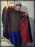 Picture of Capeman-man Costume 1